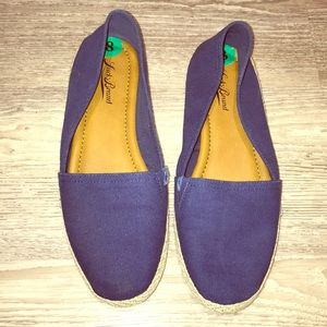 Lucky brand canvas flats